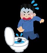 smartphone_suibotsu_toilet